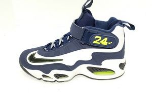 Nike Air Griffey Max 1 GS White Navy Blue Size 7Y